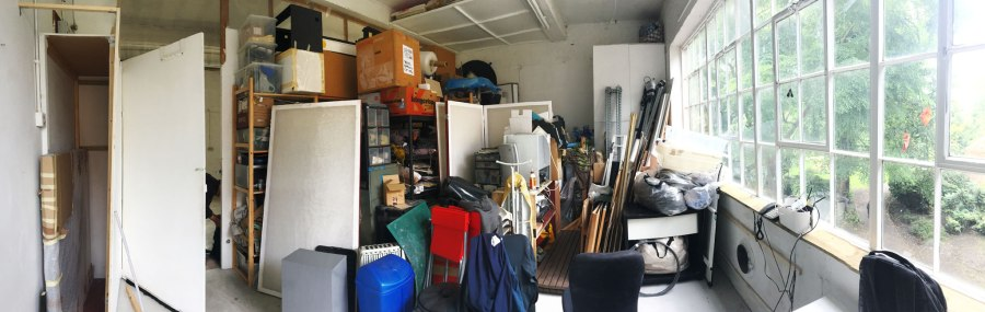 Moving studio… a few meters