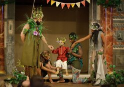 Deafinitey Theatre's production of A Midsummer Night's Dream at Shakespeare's Globee