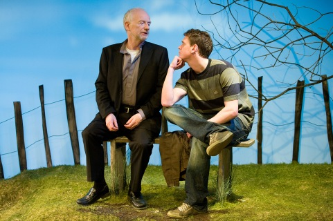 Jonah and Otto by Robert Holman, directed by Clare Lizzimore, with Ian McDiarmid and Andrew Sheridan