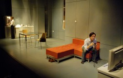 Other Hands by Laura Wade at Soho Theatre, directed by Bijan Sheibani. In this photo: Richard Harrington