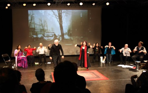 East at Rich Mix as part of A Season of Bangla Drama. Photo Simon Daw