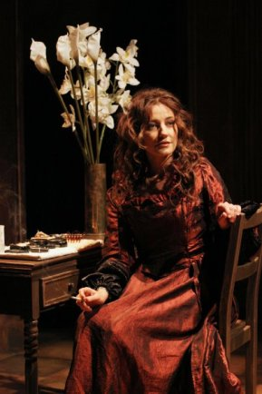Edna O'Brian's Triptych at Southwark Playhouse, directed by Sean Matthias. In this photo: Orla Brady