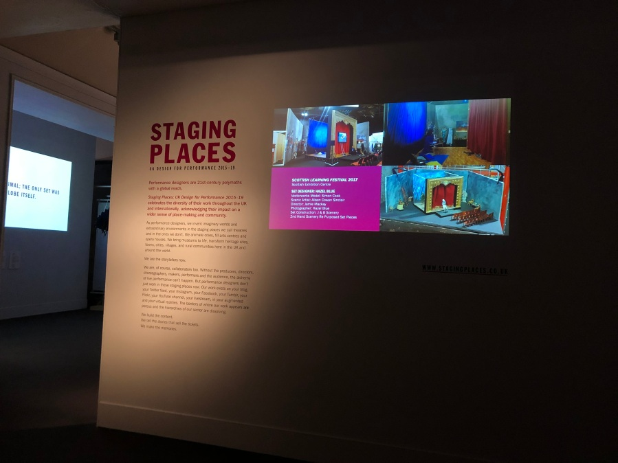 Staging Places at theV&A